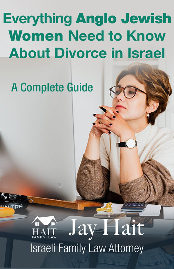 What Jewish Women need to know about divorce in Israel